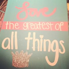 a canvas for my little :)