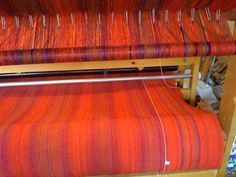 VIDEO: of Production Weaving on an AVL Mechanical Dobby Loom