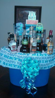 Mens Birthday Gift Basket