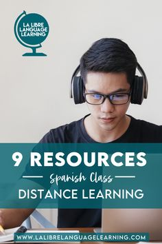 Tired of distance learning? So is your Spanish class. Give your Spanish 1 students some fresh new resources and revitalize your distance learning spanish class with free activities, technology tips for remote learning, and great google classroom activities for high school Spanish 2 or Spanish immersion. Your remote learning experience teaching from home doesn't have to go stale with 9 brand new lesson plans and professional development! #spanishclass #distancelearning #remotelearning… High School Activities, Listening Activities, Classroom Activities, Classroom Ideas, Spanish Teaching Resources, Spanish Activities, Free Activities, Middle School Spanish, Elementary Spanish