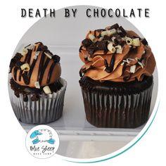 Death By Chocolate Cupcake – Blue Sheep Bake Shop