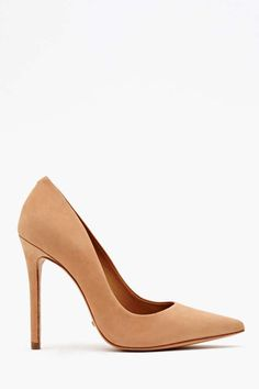 Behold... The most beautiful nude pump there ever was | Schutz Libertine Pump in Nude | NastyGal | $150.00