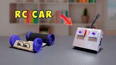 Awesome Cars hacks 2017: How To Make A Simple RC Car ( simple life hacks ! )...  Scratch Built RC/Everything
