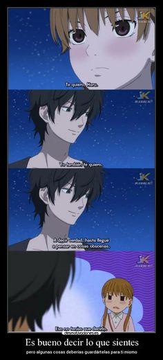 carteles anime shinigamisempai tonari kaibutsu kun bueno decir que sientes pero algunas cosas deber desmotivaciones