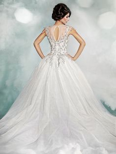 The Dar Sara Wedding Gowns 2014 Are Luxurious And Voluminous Embellished With Thousands Swarovski Crystals