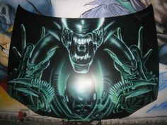 Alien Airbrush