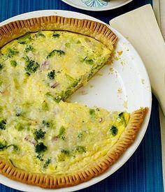 Cheese and Broccoli Tart