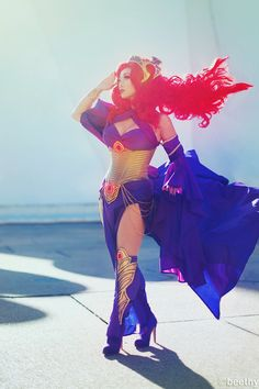 Medusa (Queen of the Inhumans) cosplayed by Yaya Han | photo by beethy | #cosplay