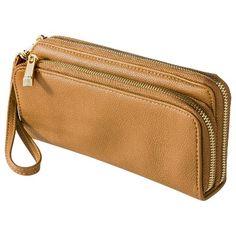 Merona Double Zipper Wallet $16.99