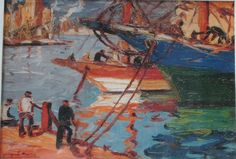 """The classic """"Porteño"""" (from the port) artist, Quinquela Martin. (buenos aires) #travelcolorfully"""