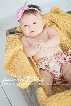 three month old photography
