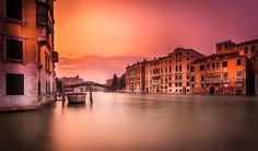Venice Sunset Long Exposure by Ramelli Serge on 500px