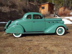 1936 Dodge Custom Airstream Rumbleseat Coup....slick...
