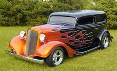 1934 Chevy Sedan - 2 Dr, Outlaw Body Car Marlton, NJ.