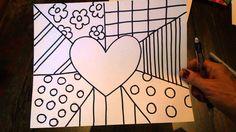 Britto Art Lesson 1 … Más