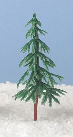 6 x Plastic Christmas Tree Cake Decorations 75mm - As Used by Nigella! Christmas Shop http://www.amazon.co.uk/dp/B00FJHWKIY/ref=cm_sw_r_pi_dp_muHswb0JEE8JJ