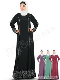 Buy Raameen Abaya | MyBatua | http://www.mybatua.com/womens/abaya