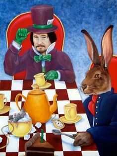 """Mad Hatter and the March Hare"" by Chad Thomas"