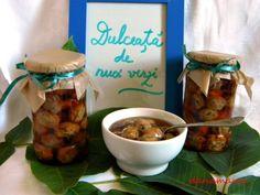 Dulceata de nuci verzi - Prajiturici si altele | Blog culinar