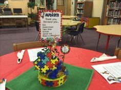 Autism centerpiece