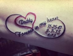 Image result for mom and dad wings tattoo
