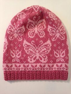 Ravelry Papilio Hat Pattern By Jennypenny ravelry papilio hutmuster von jennypenny ravelry papilio hat pattern par jennypenny Fair Isle Knitting Patterns, Knitting Charts, Loom Knitting, Free Knitting, Crochet Patterns, Hat Patterns, Knit Crochet, Crochet Hats, Knitting Accessories