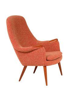 Gerhard Berg; Lounge Chair for LK Hjelle, 1950s.