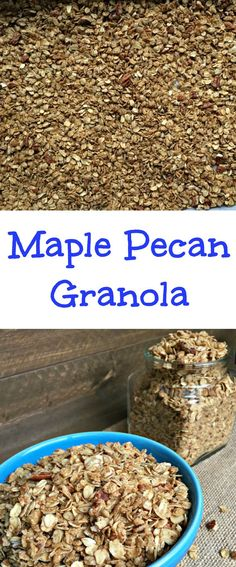 ... Granola | Recipe | Granola, Granola Clusters and Crunchy Granola