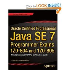 Oracle Certified Professional Java Se 7 Programmer Pdf