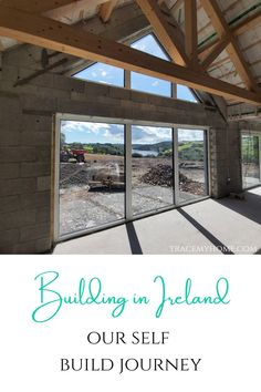 Join us as we build our forever home in Ireland. My husband is a carpenter and has building experience. He is doing most of our build himself! Self Build Houses, Mother In Law Gifts, Outside Patio, Building Companies, Australia Living, Eco Friendly House, Rose Cottage, Heating Systems, How To Level Ground