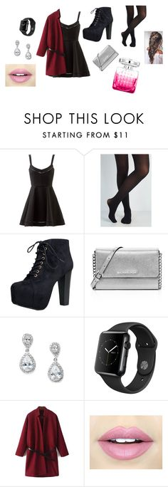 """""""Diner Louis Tomlinsson"""" by leoniemika on Polyvore featuring mode, Elizabeth and James, Speed Limit 98, MICHAEL Michael Kors, Jimmy Choo et Fiebiger"""
