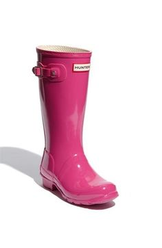 Considering moving to a place where it rains more..... Pink Boots