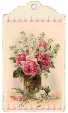 Read about how to Shabby chic paint Images Vintage, Vintage Tags, Vintage Labels, Vintage Ephemera, Vintage Pictures, Vintage Paper, Vintage Postcards, Vintage Flowers, Vintage Prints