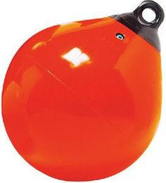 """Taylor Made Products Tuff End Inflatable Vinyl Boat Buoy (15"""", Orange)"""