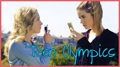 Teen Olympics 2014 - MeghanRosette vs. Audrey Whitby Social Media Showdown #teens #olimpics #social network