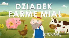 Dziadek fajną farmę miał  – piosenka z teledyskiem dla dzieci. Śpiewanki.tv