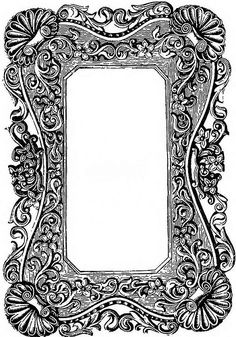 Vintage Ornate Frame
