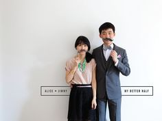 My Better Half - Alice and Jimmy-01 by Amanda Jane Jones, via Flickr