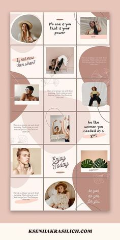 Instagram Feed Planner, Instagram Feed Layout, Instagram Square, Instagram Grid, Instagram Frame, Instagram Design, Instagram Posts, Design Websites, Pinterest Design