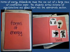 Tales of Frogs and Cupcakes: Foldables Week: Science
