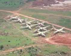 South African plane boneyard