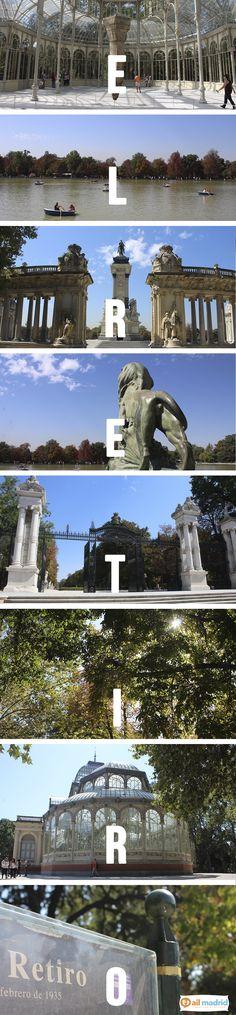 ¿No te encanta el #Parque del #Retiro? // Don't you love #Retiro #Park? #Madrid #chilled #sunday #plans #sun