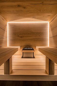 Hotel Lobby Design, Outdoor Sauna, Finnish Sauna, Chelsea Hotel, Sauna Room, Dream Bath, Luxury Pools, Spa Design, Wellness Spa