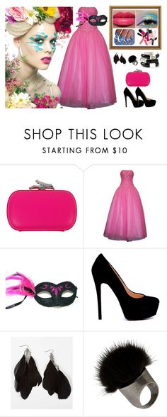 Barbie by fitriauliau on Polyvore featuring PacificPlex, Diane Von Furstenberg, White House Black Market, Daytrip, Ranjana Khan, Laura Mercier and Chanel