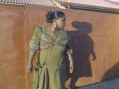 Glamorous Shweshwe Dresses 2017 / 2018 ⋆ fashiong4 Shweshwe Dresses, African Fashion Skirts, Wrap Dress, Summer Time, Just In Case, Glamour, Women's A Line Dresses, Wedding, Outfits