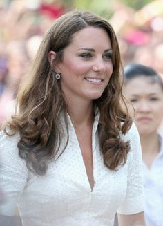 Kate Middleton Photos Photos: The Duke And Duchess Of Cambridge Diamond Jubilee Tour - Day 2 Princess Kate Middleton, Kate Middleton Photos, Kate Middleton Style, Duchess Kate, Duke And Duchess, Duchess Of Cambridge, Prince William Et Kate, William Kate, Gardens By The Bay
