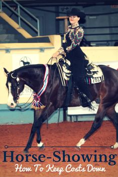 How to show horses on a budget: Keep horse showing costs down with these simple, but effective, tips!