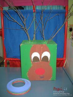 Χριστουγεννιάτικα παιχνίδια με γονείς Outside Activities, Baby Play, Planter Pots, Create, Winter, Christmas, Advent, Noel, Winter Time
