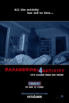 PARANORMAL ACTIVITY 4!!