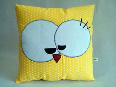 Pajarito Baby Pillows, Dyi Pillows, Cute Pillows, Kids Pillows, Sewing Pillows, Decorative Pillows, Throw Pillows, Patchwork Pillow, Pin Cushions